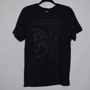 NWT Express Black Graphic Short Sleeve Tee
